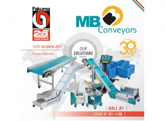 MAK - MB Conveyors at FAKUMA 2017